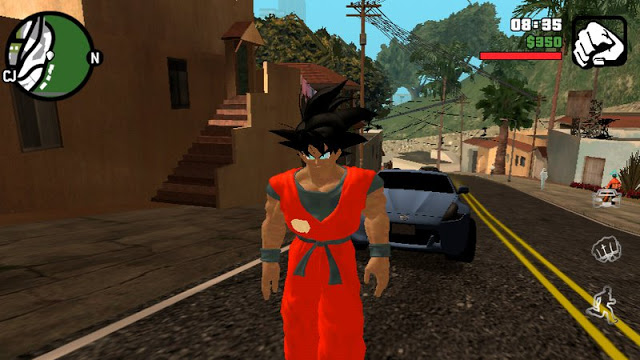 Goku Skin Solo DFF Mobile GTAAM download