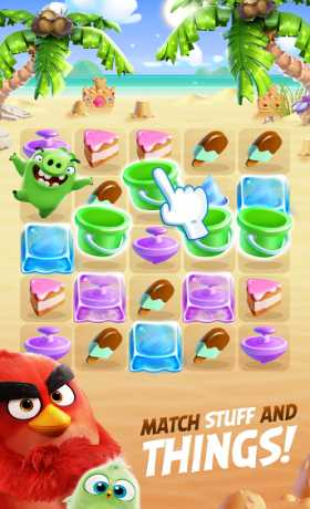 DOWNLOAD Angry Birds Match 2.0.0 Apk + Mod Coins,Gems,Lives,Moves,... android