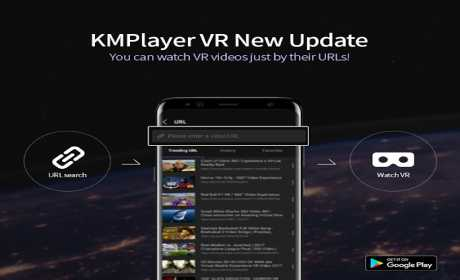 KMPlayer VR (360degree, Virtual Reality)