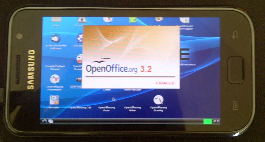 Open Office again Start Up