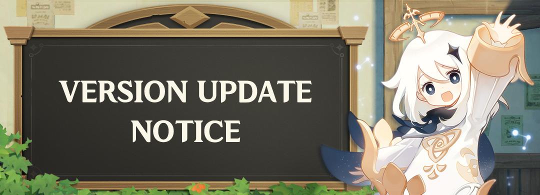 Update Genshin Impact 1.6.1 Manual