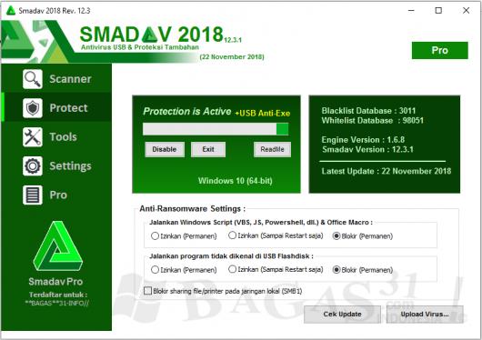 Smadav Pro 2018 Rev 12.3 Full Keygen