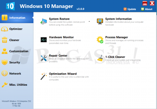 Windows 10 Manager 3 Full Version