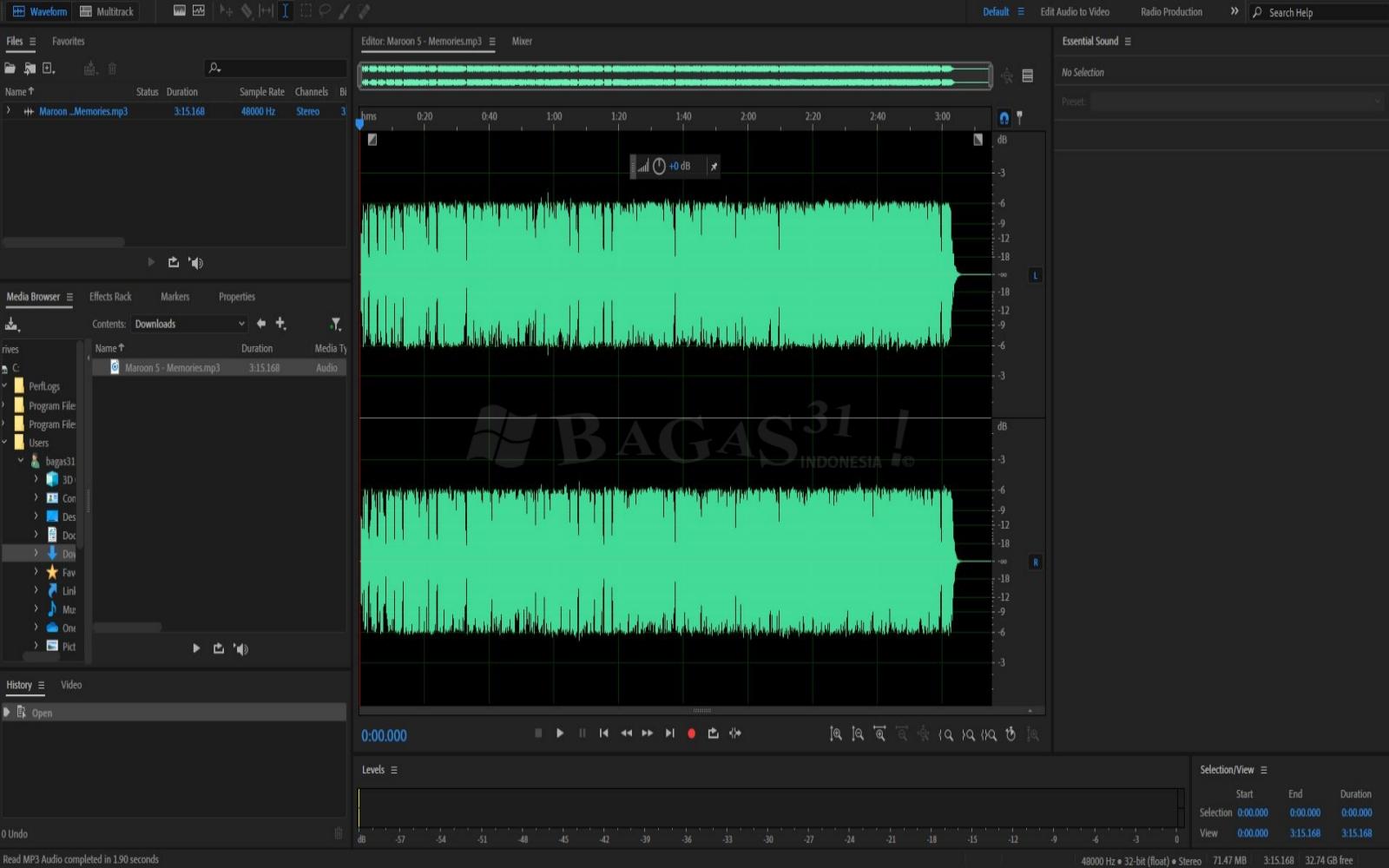 Adobe Audition 2020 v13.0.0.519 Full Version 3