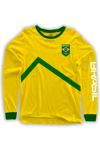 Camisa Time Brasil Faixa a partir de. R  39 07ee4379a3232
