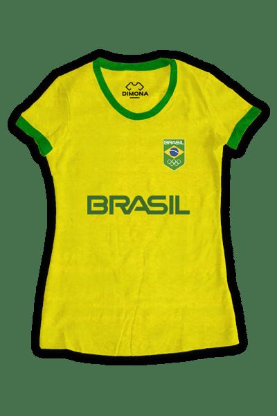 Camisa Fem. Time Brasil a partir de. R  34 79e58f341da4f