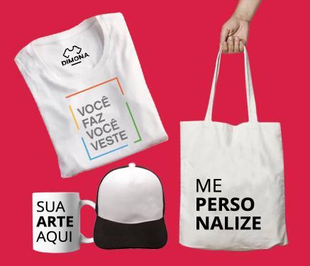 7de57aaddf Personalizar Camisetas Online - Estampe o com Melhor Preço
