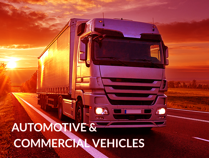 AUTOMOTIVE & COMMERCIAL VEHICLES