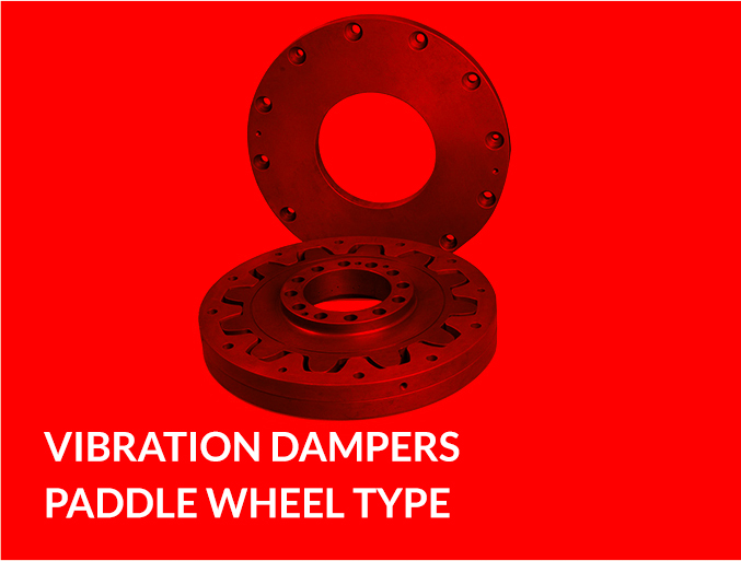 VIBRATION DAMPERS PADDLE WHEEL TYPE