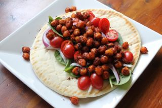 Roasted Chickpea Pita