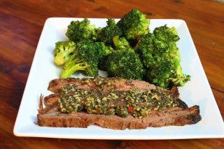 Garlic Butter Flank Steak