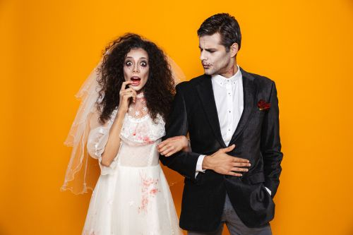 Bigstock Photo Of Young Zombie Couple B 261805114