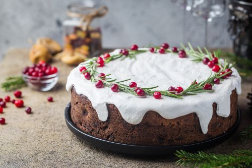 Bigstock Traditional Christmas Cake Wit 262533523