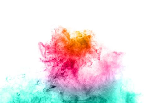 Bigstock Abstract Multicolored Smoke On 232072594