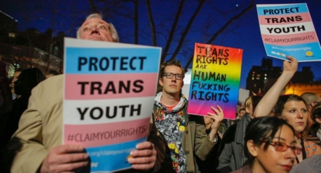Trans March and Protest