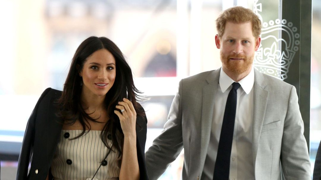 Meghan joins Prince Harry for Commonwealth Youth Group Work