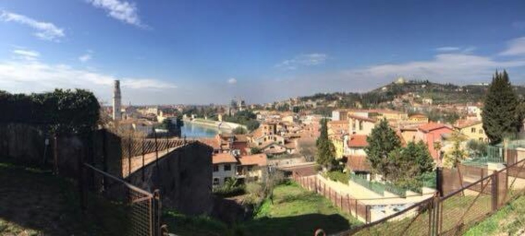 Panorama Shot of Verona Italy