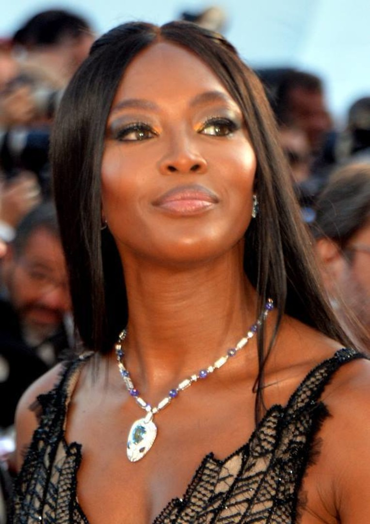 Naomi Campbell Cannes 2017