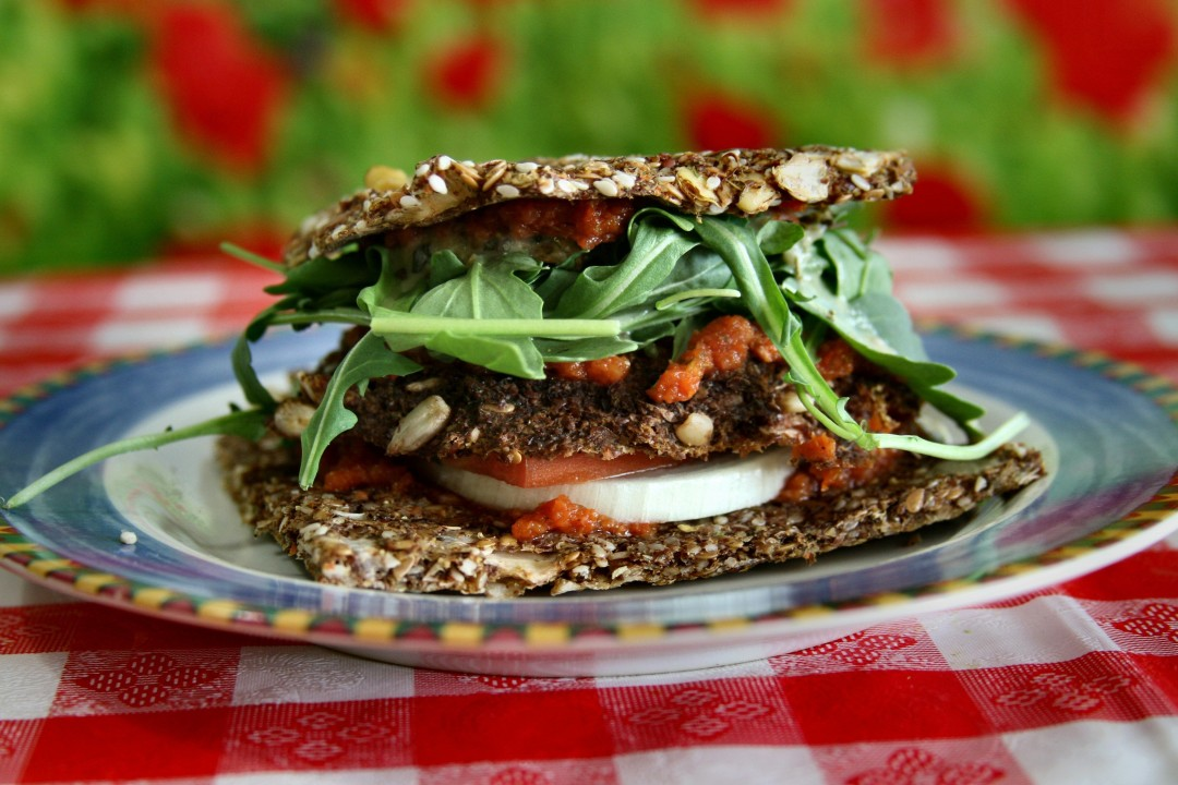Vegan veggie patty