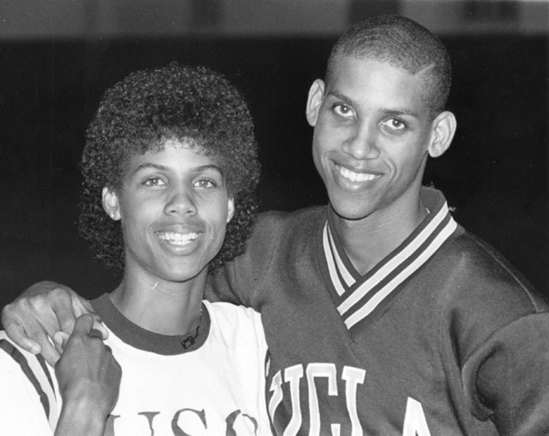 Reggie and Cheryl Miller
