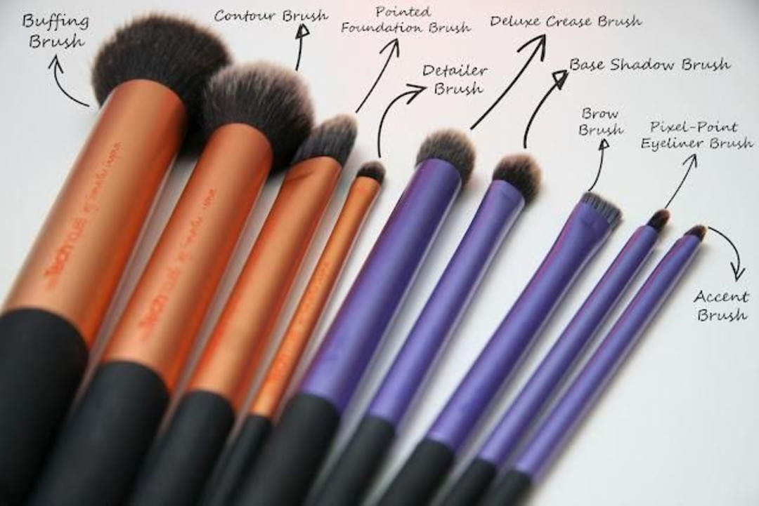 Real brushes