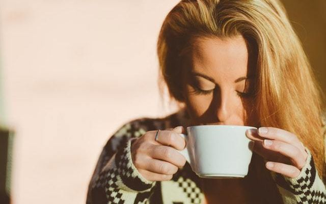 Person Woman Coffee Cup