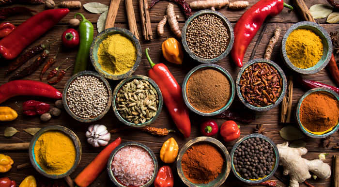 Bigstock Variety Of Spices And Herbs On 232965565