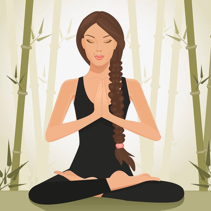 Bigstock Meditating Woman 28577825