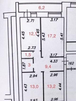 3-к. квартира, 72,5м², 8/9эт.