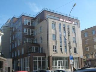 Торгово-офисное здание с земельным участком