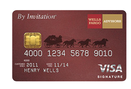 Wells Fargo Advisors By Invitation® Visa Signature®