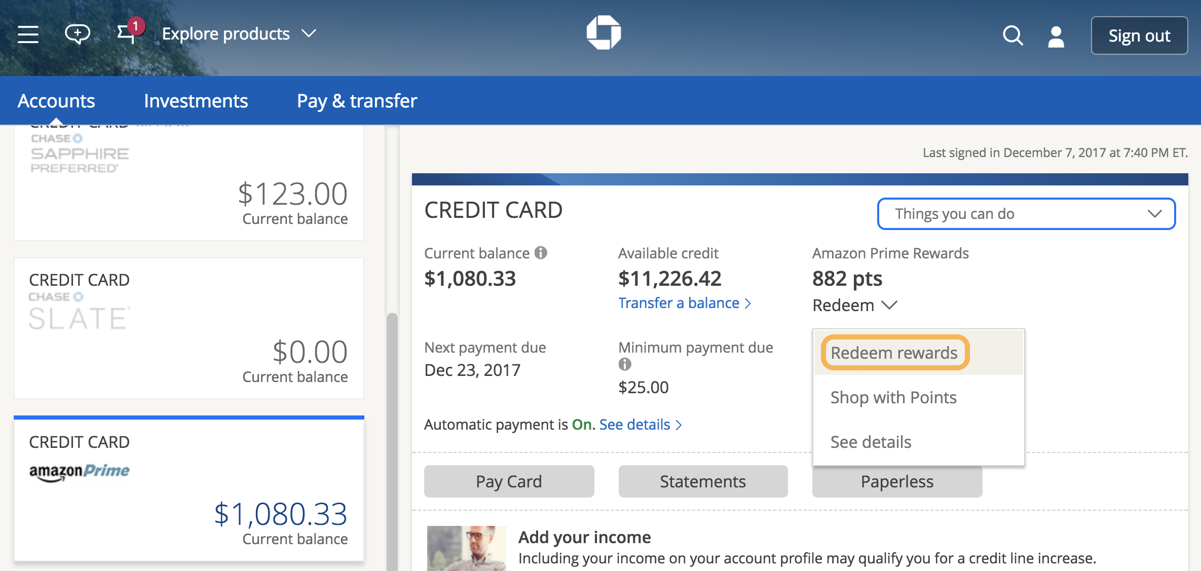 2020 Review: Amazon Rewards and Prime Rewards Visa Signature Cards
