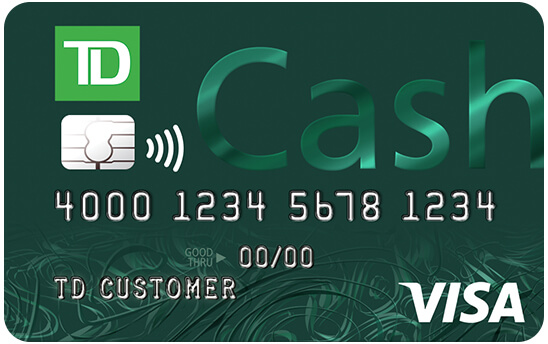 TD Cash Credit Card - Info & Reviews - Credit Card Insider