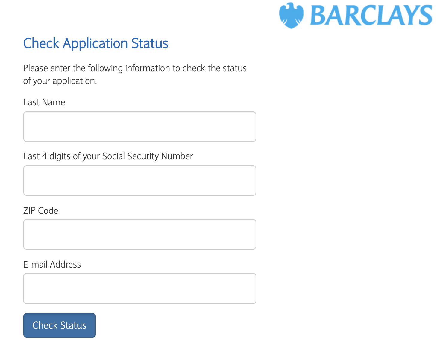 Barclays - Online App Check