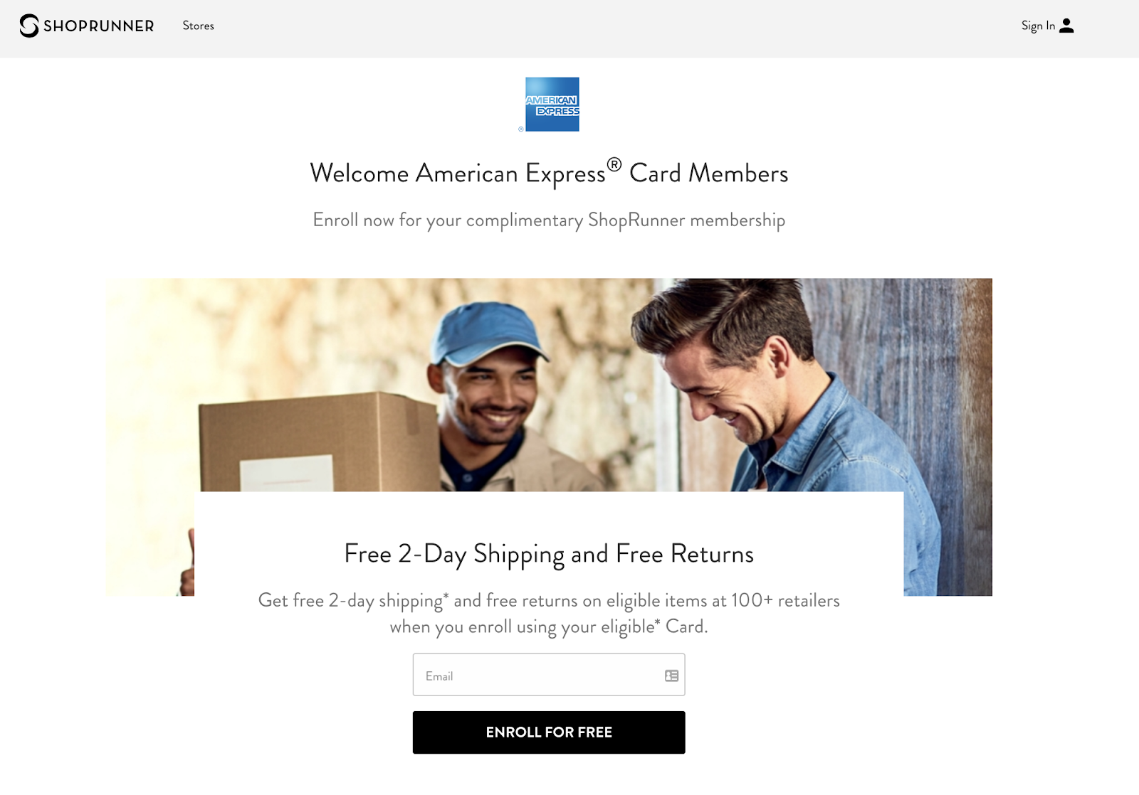 How the ShopRunner Amex Benefit Will Get You 2-Day Shipping at 140 Stores