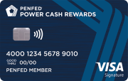 PenFed Power Cash Rewards Visa Signature® Card