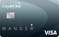 Credit One Bank® Wander™ Card With No Annual Fee