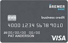 Bremer Bank Visa Signature Business Company Card