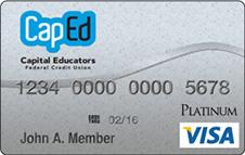 CapEd Visa® Platinum Credit Card