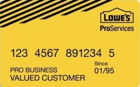 Lowe's Business Account