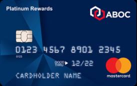 ABOC Platinum Rewards Mastercard® Credit Card