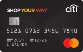Shop Your Way Mastercard®