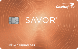 Capital One Savor Cash Rewards Credit Card