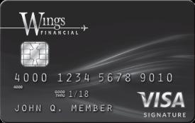 Wings Member Rewards Visa® Signature Card