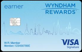 Wyndham Rewards® Visa Signature® Card - $75 Annual Fee