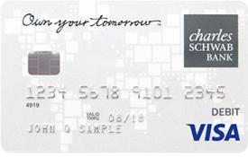 Schwab Bank Visa® Platinum Debit Card