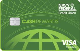 Navy Federal Visa cashRewards Card