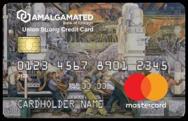 Amalgamated Bank of Chicago Union Strong Card