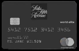 SaksFirst Mastercard