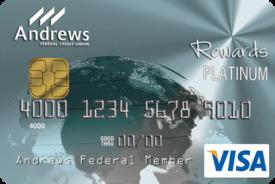 Andrews Federal Platinum Rewards Visa® Credit Card